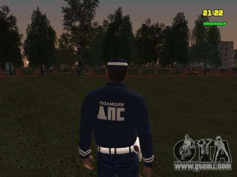 DPS Sergeant for GTA San Andreas third screenshot