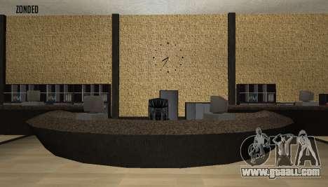 Retekstur the Interior of City Hall for GTA San Andreas forth screenshot