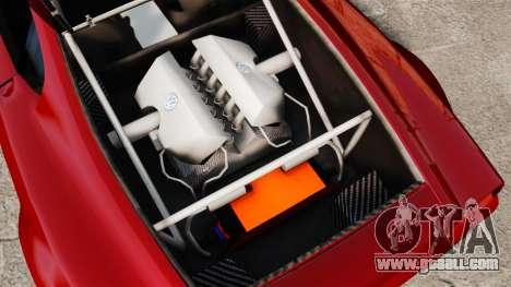 Volkswagen W12 Nardo 2001 [EPM] for GTA 4 back view
