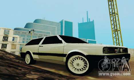 VW Parati GLS 1988 for GTA San Andreas back view