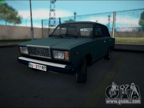 LADA 2107 Riva for GTA San Andreas left view