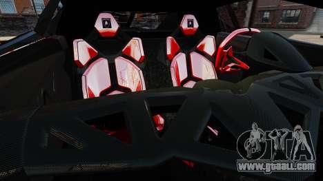 Lamborghini Veneno for GTA 4 side view