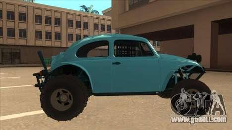Volkswagen Baja Buggy 1963 for GTA San Andreas back left view