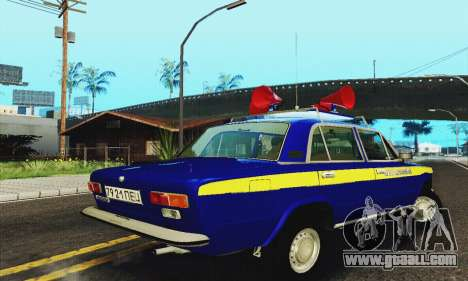 VAZ 21011 Propaganda for GTA San Andreas right view