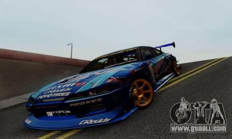 Nissan Silvia S15 Toyo Drift for GTA San Andreas side view
