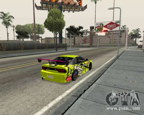 Nissan 240sx Drift for GTA San Andreas right view