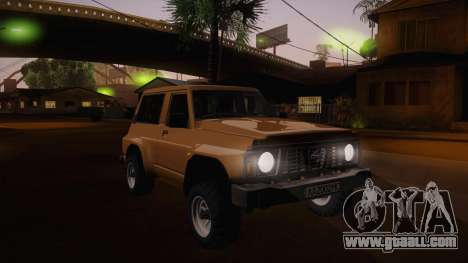 Nissan Patrol Y60 for GTA San Andreas side view
