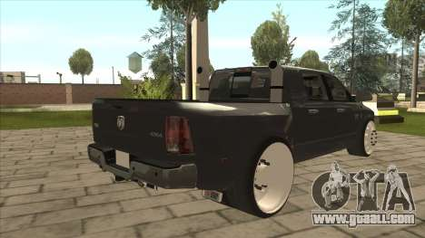 Dodge Ram Laramie Low for GTA San Andreas right view