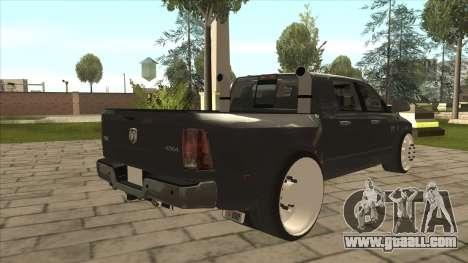 Dodge Ram Laramie Low for GTA San Andreas right view