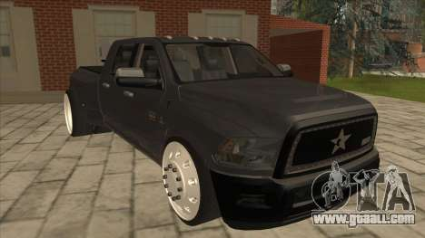 Dodge Ram Laramie Low for GTA San Andreas left view