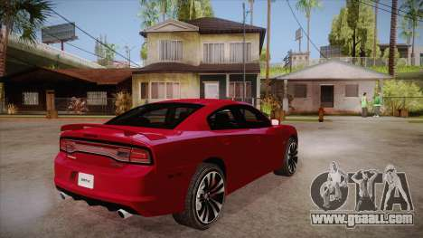 Dodge Charger SRT8 2012 for GTA San Andreas right view