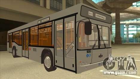 511 Sremcica Bus for GTA San Andreas left view