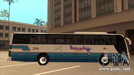 Husky Tours 2288 for GTA San Andreas back left view