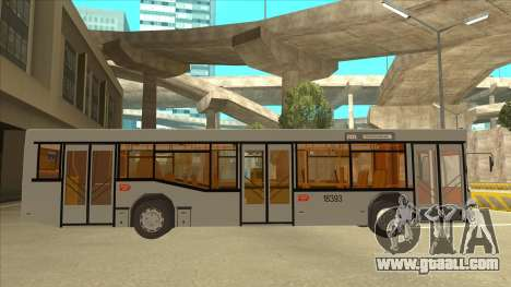 511 Sremcica Bus for GTA San Andreas back left view