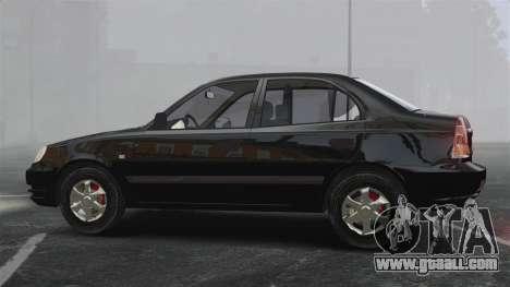 Hyundai Accent Admire for GTA 4 left view