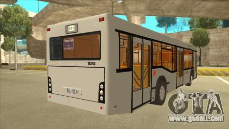 511 Sremcica Bus for GTA San Andreas right view