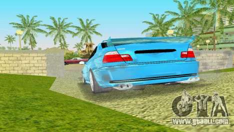 BMW M3 E46 Hamann for GTA Vice City right view