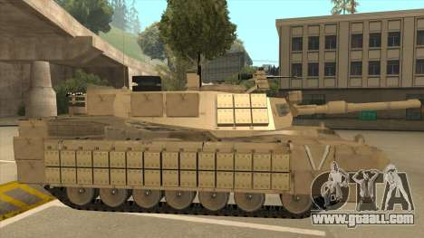 M69A2 Rhino Desierto for GTA San Andreas back left view