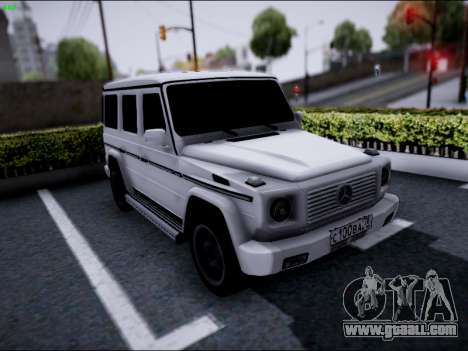 Mercedes-Benz G500 for GTA San Andreas left view