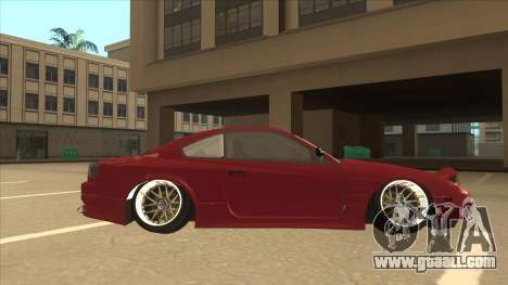 Nissan Silvia S18-5 for GTA San Andreas back left view