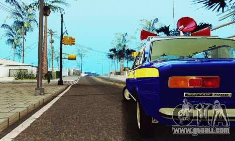 VAZ 21011 Propaganda for GTA San Andreas inner view