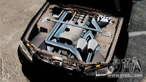 Nissan Skyline R34 for GTA 4 inner view