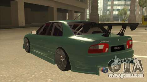 Proton Wira with s15 front end for GTA San Andreas back view