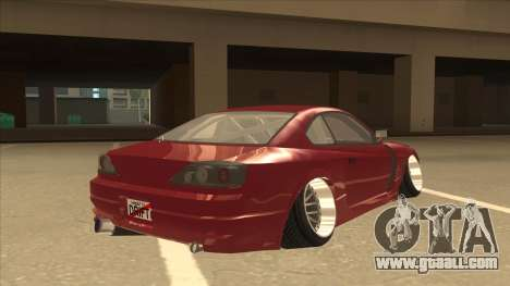 Nissan Silvia S18-5 for GTA San Andreas right view
