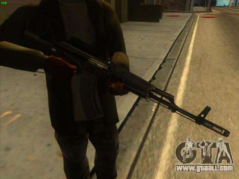 AK-103 for GTA San Andreas second screenshot