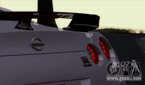 Nissan GT-R Carbon for GTA San Andreas right view