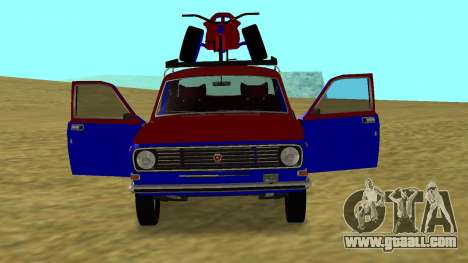 Gaz-24 Volga Fun for GTA San Andreas right view