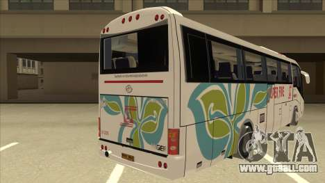 Higer KLQ6129QE - Super Five Transport S 025 for GTA San Andreas right view