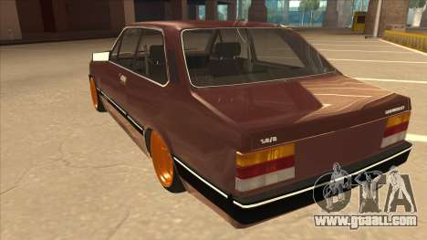 Chevrolet Chevette SLE 88 for GTA San Andreas back view