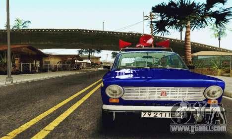 VAZ 21011 Propaganda for GTA San Andreas left view