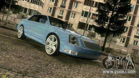 Caddy DTS DUB for GTA Vice City back left view