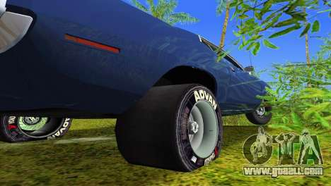 Plymouth Barracuda Supercharger for GTA Vice City upper view