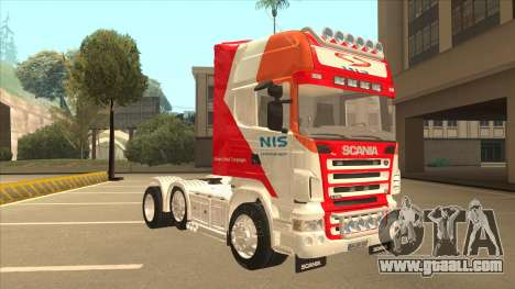 Scania R620 Nis Kamion for GTA San Andreas left view