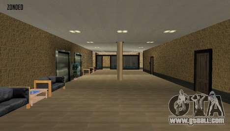 Retekstur the Interior of City Hall for GTA San Andreas third screenshot