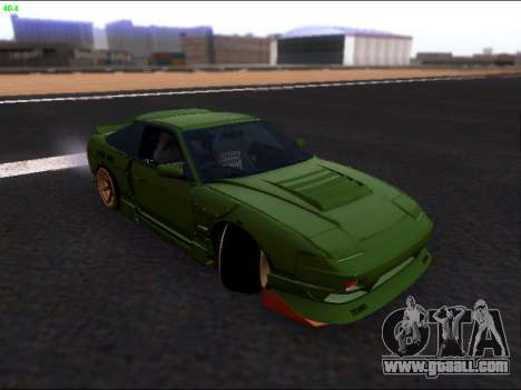 Nissan 180sx Takahiro Kiato for GTA San Andreas upper view