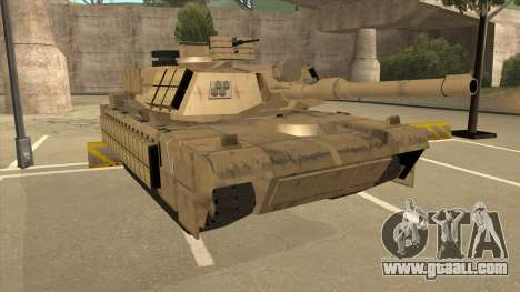 M69A2 Rhino Desierto for GTA San Andreas left view