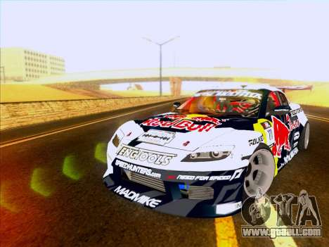 Mazda RX-8 NFS Team Mad Mike for GTA San Andreas