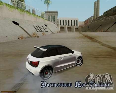 Audi A1 Clubsport Quattro for GTA San Andreas upper view