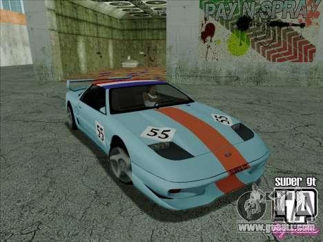Super GT HD for GTA San Andreas interior
