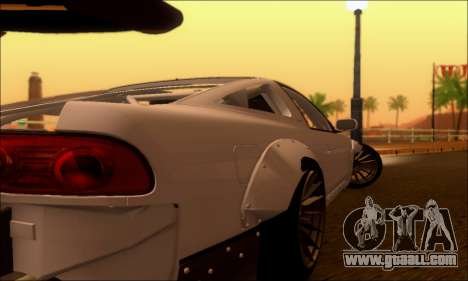 Nissan 380SX BenSopra for GTA San Andreas right view