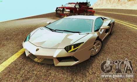 Lamborghini Aventador LP700 for GTA San Andreas