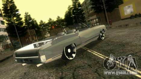 Chevy Monte Carlo for GTA Vice City left view
