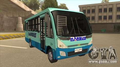 BANBUS Bus Srb. for GTA San Andreas left view