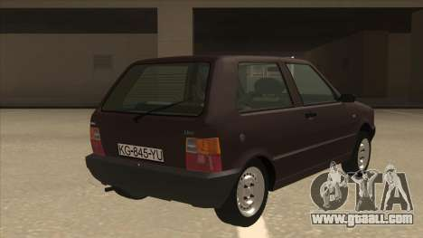 Yugo Uno 45 R 1994 for GTA San Andreas right view
