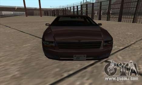 Washington of GTA 5 for GTA San Andreas back left view