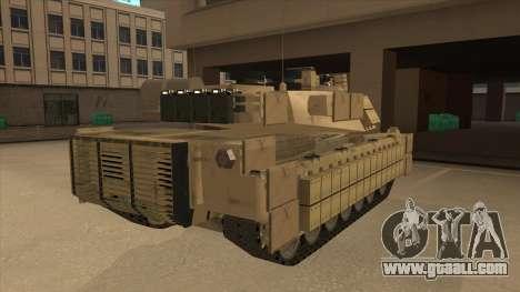 M69A2 Rhino Desierto for GTA San Andreas right view